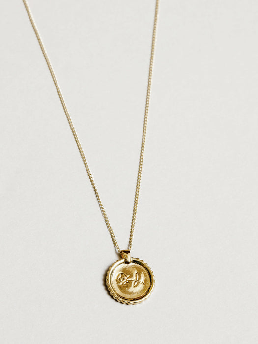 Wolf Circus Rosie Necklace in Gold