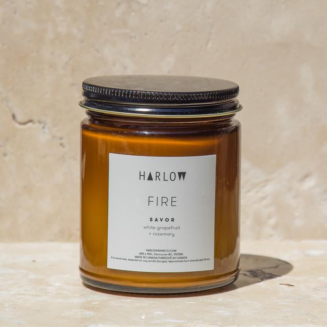Harlow Skin Co. Fire Candle - Savor