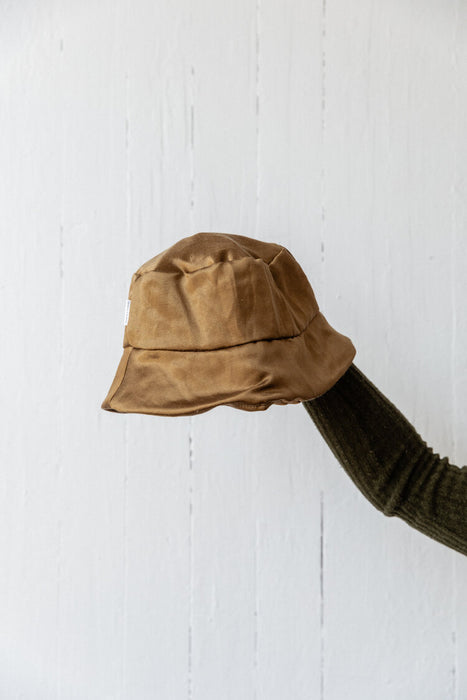 Charlie & Paisley Wanda Bucket Hat in Bronze