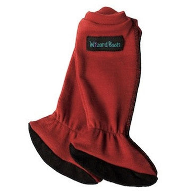 Wizard Wear - Wizard Boots Merino Baby Socks in Brick