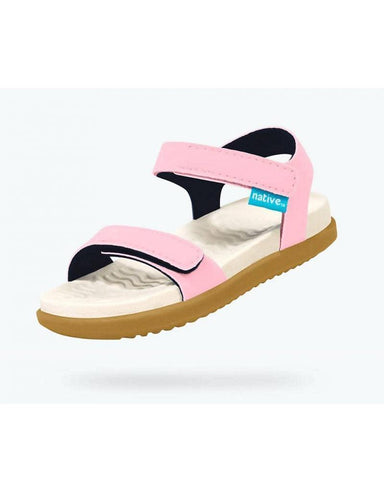 Native Shoes Charley Children's Sandal in Princess Pink