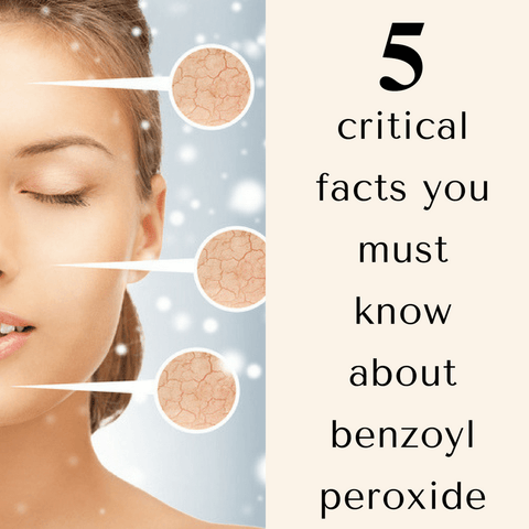 benzoyl peroxide keeps you from clear skin