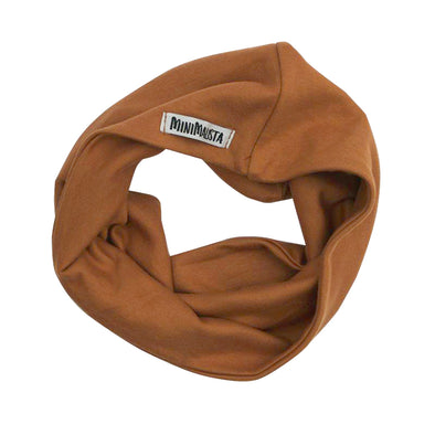 Scarf Infantil Unissex Liso Collection Caramelo para 2 anos+