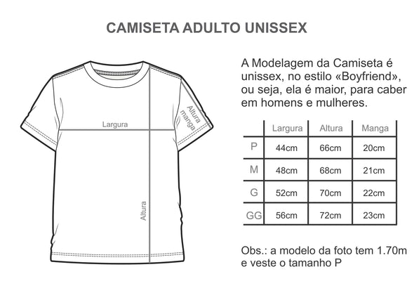 Camiseta Adulto BETTER TOGETHER Fundo Mescla MINI+ME