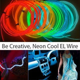 EL Wire Kits - Twisted Glow