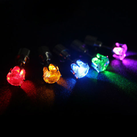 LED Earrings - Twisted Glow
