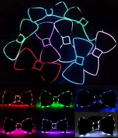 Light Up LED Bow Tie