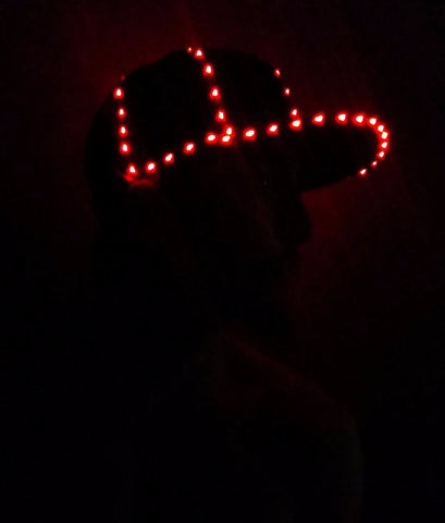 LED Hat - Twisted Glow