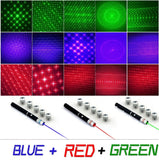 Lasers - Green, Red & UV - Twisted Glow