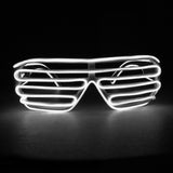 Glow Shutter Shades - Twisted Glow