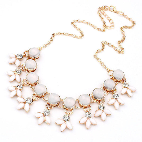 Bubble Beads Statement Necklace -  - trendiU - 1