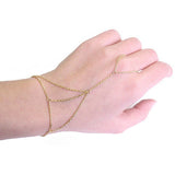 Simple Chain Hand Harness - Gold - trendiU - 1