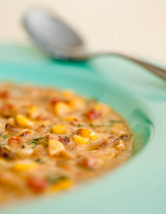 Recipe of the Day: fire-roasted corn chowda