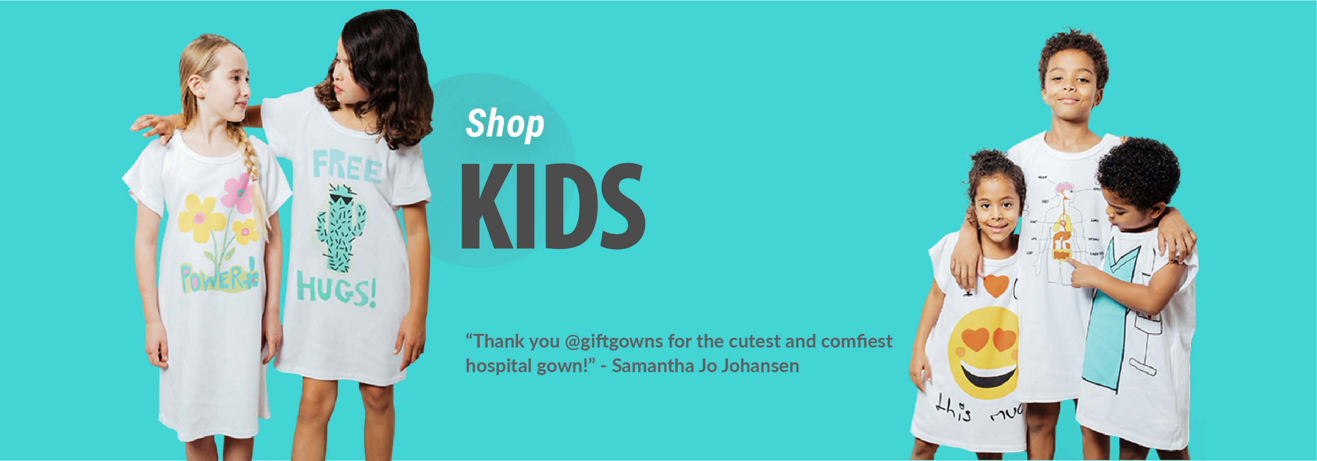 Kid\'s Hospital Gowns – Giftgowns