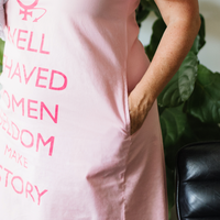 Well Behaved Women Gown pocket