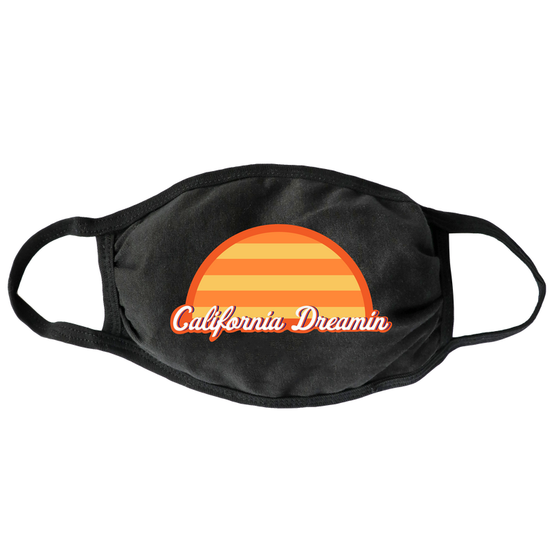 California Dreamin Face Mask