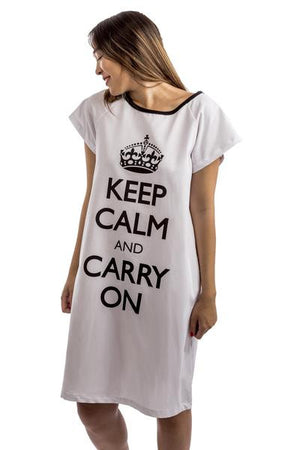 fashionable women's hospital gown white front