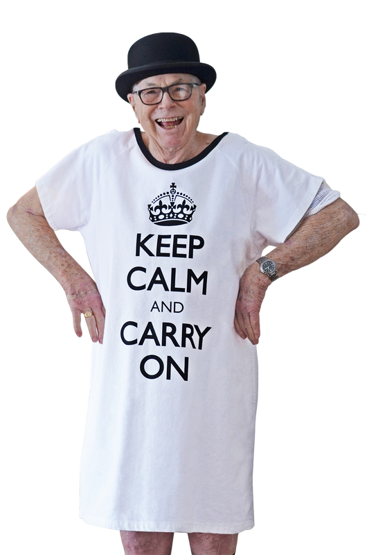 Keep Calm and Carry On (Men)