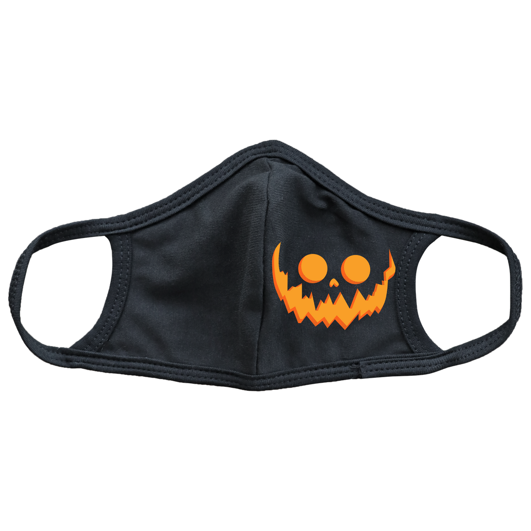 Jack-O-Lantern Kids Face Mask