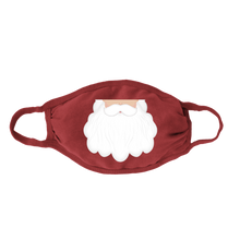 Load image into Gallery viewer, Santa Beard Kids Face Mask