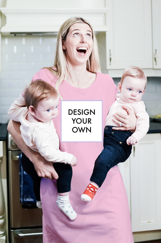Design Your Own (Maternity) (Pink)