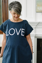 Load image into Gallery viewer, Love (Navy) Maternity