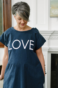 Love (Navy) Maternity