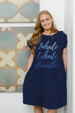 Load image into Gallery viewer, Inhale Exhale (Navy) Maternity