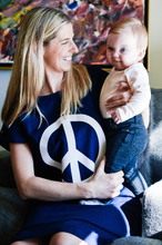 Load image into Gallery viewer, Peace (Navy) Maternity
