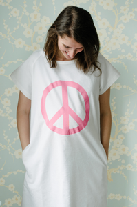 Peace (White) Maternity