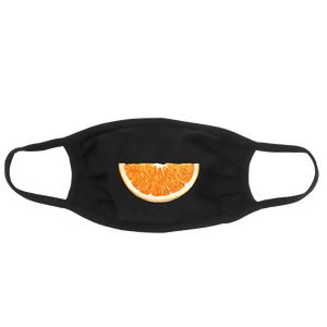 Orange Slice Face Mask