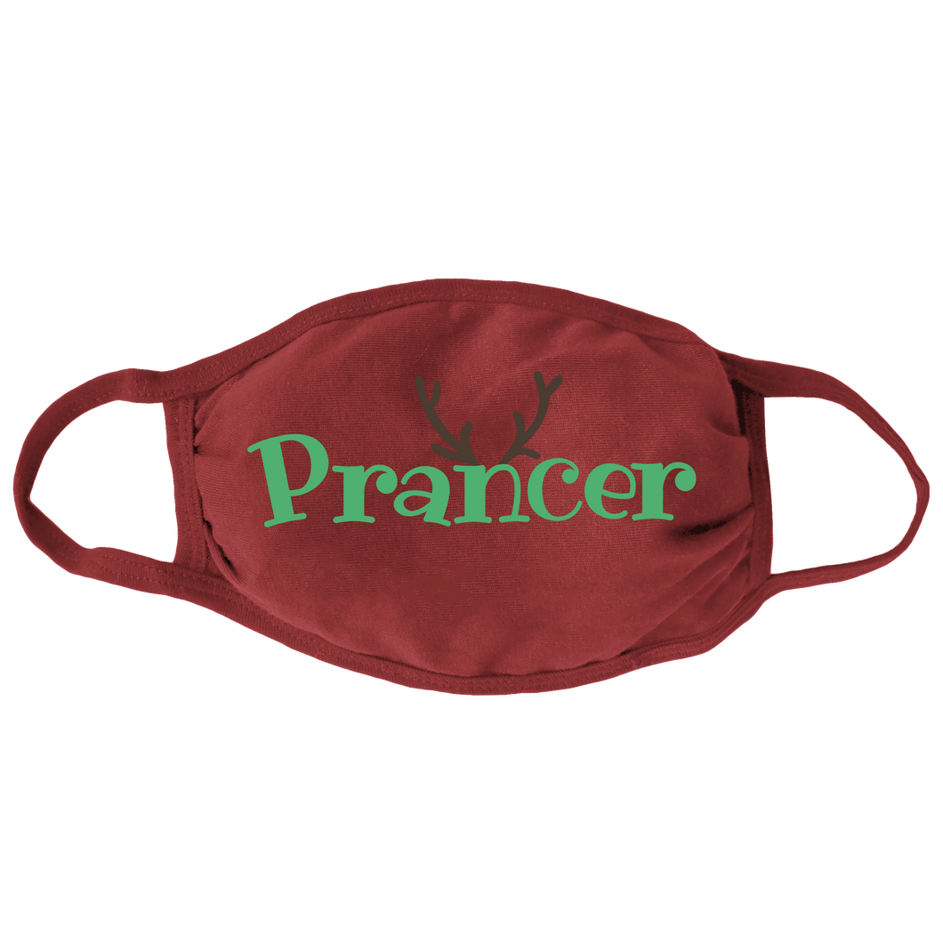 Prancer Face Mask
