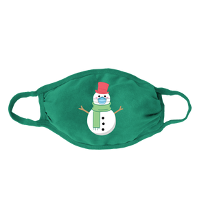 Snowman Kids Face Mask
