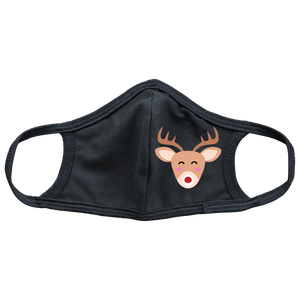 Rudolph Kids Face Mask
