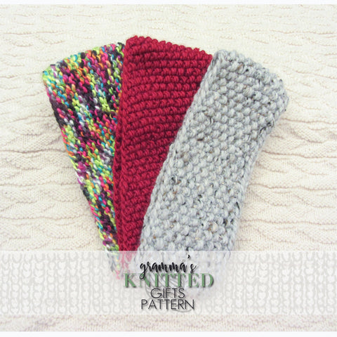 Adult Headbands Knitting Patterns