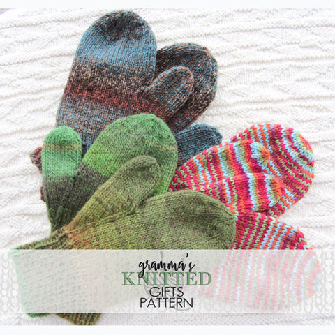 Classic Adult Mittens Knitting Pattern