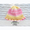 Baby Ruffled Hat Knitting Pattern