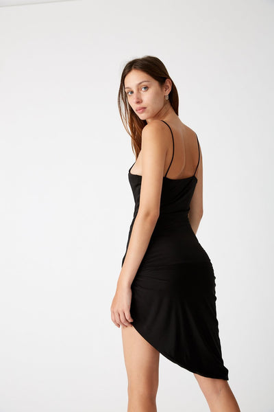 Twisted Slip Dress - Macy Carlisle