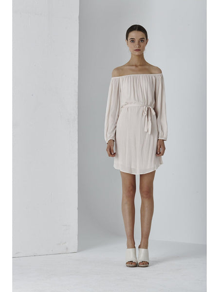 Dolce Off Shoulder L/S Dress - Macy Carlisle