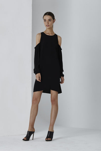 Divine Cut Out Sleeve Dress - Macy Carlisle