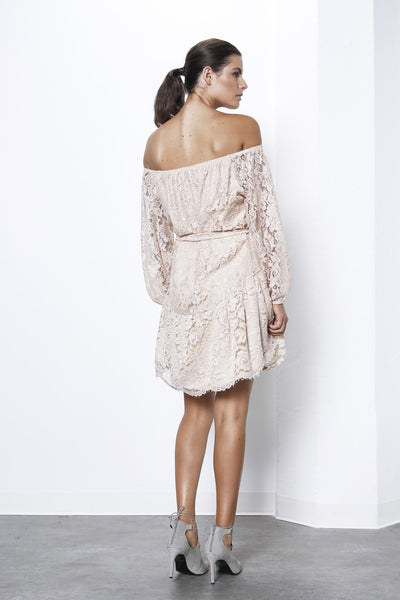 Creator Lace Off Shoulder Dress - Macy Carlisle