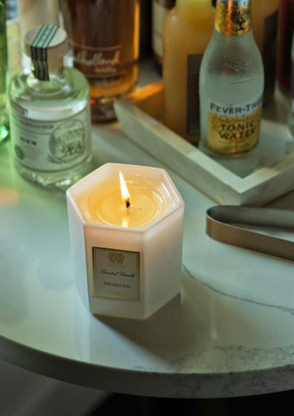 Prosecco Hexagon - 9 oz Candle - Macy Carlisle