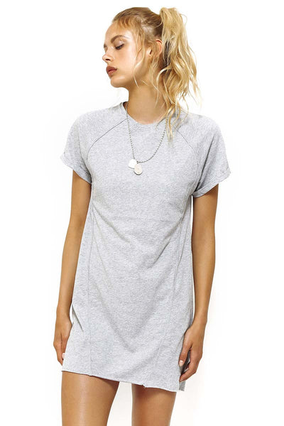 Racer Cutout Tee Dress - Macy Carlisle