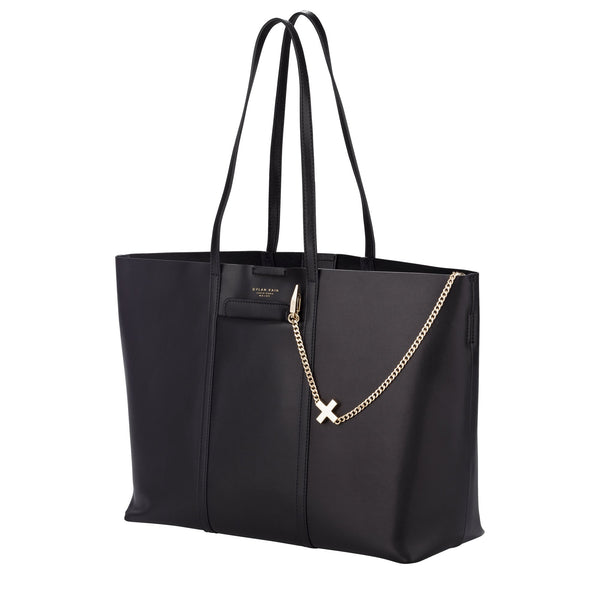 The Evangelista Tote bag with chain purse Light Gold