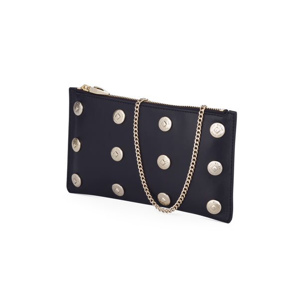 The Claudia Clutch Light Gold