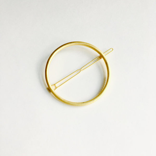Hair Clips - Matte Gold - Macy Carlisle