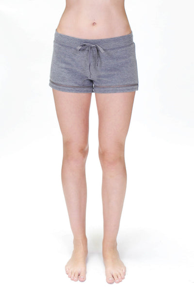 Charcoal Stitched Short - Macy Carlisle