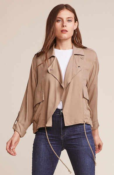 Always + Forever Drawstring Jacket - Macy Carlisle