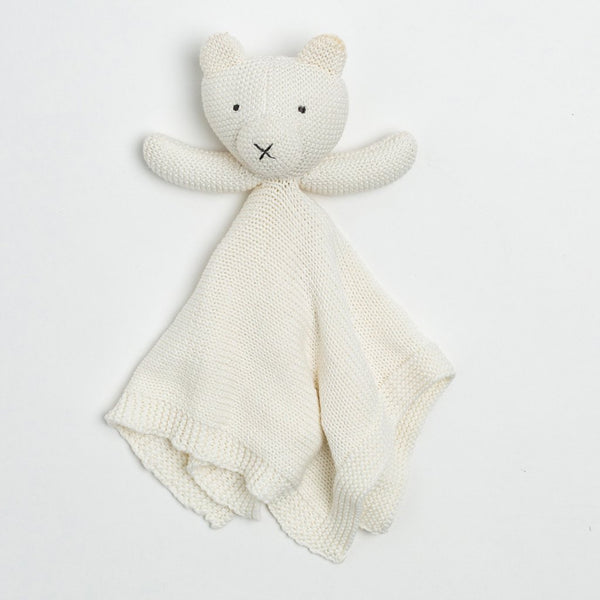 Organic Cotton Lovey - Bear - Macy Carlisle