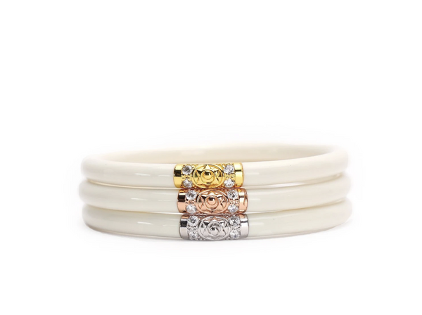 THREE KINGS ALL WEATHER BANGLES® (AWB®) - IVORY